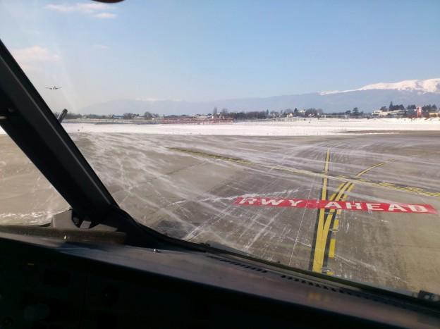 Neige à Genève