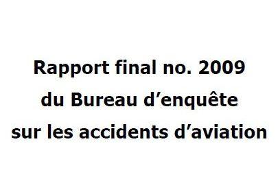 Extrait du rapport N°2009