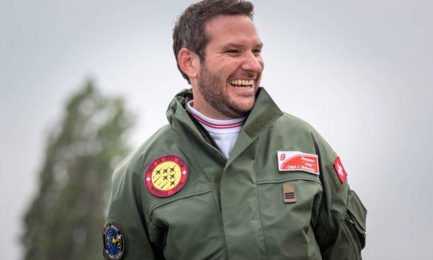 Jody Bolomey – Speaker de la Patrouille suisse